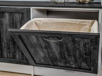 built-in laundry-hampers